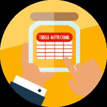 Tabela nutricionais e rótulos - Escola Missão Continente