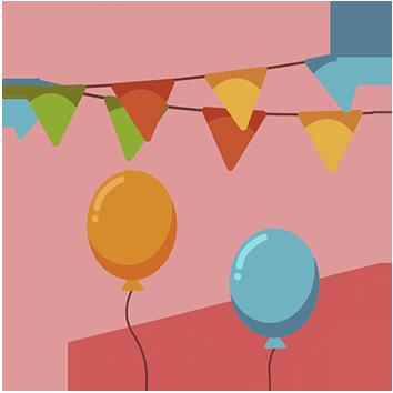 Festas infantis saudáveis - Escola Missão Continente